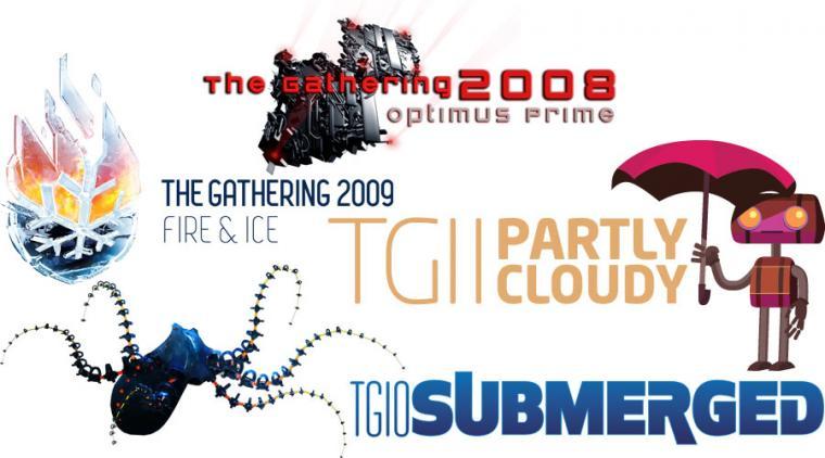 Kreativitet på The Gathering 2008-2011