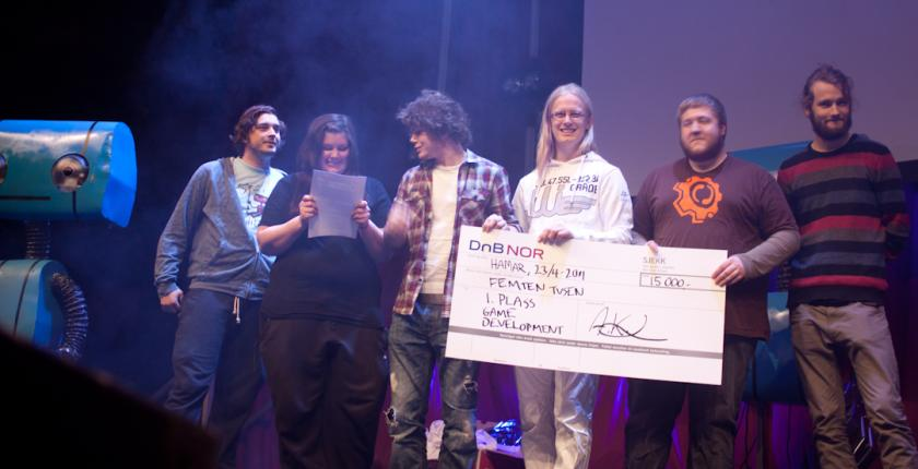 This year's creative prizes!