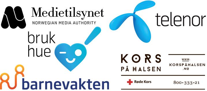 Logoer til samarbeidspartnere